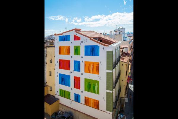 SUSO33 Wall Ausencias y Presencias Madrid