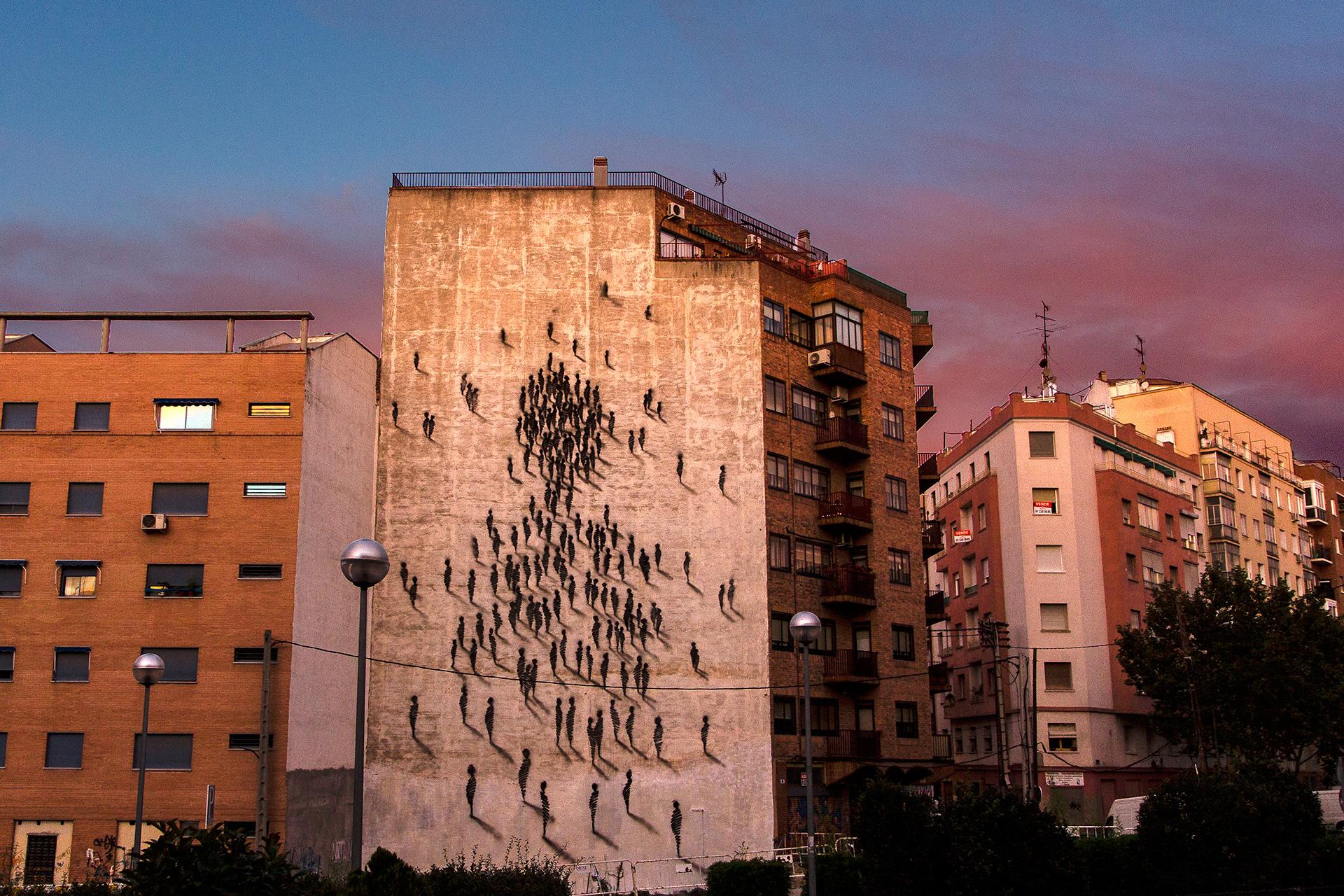 SUSO33 Wall Presencias Tetuán Madrid