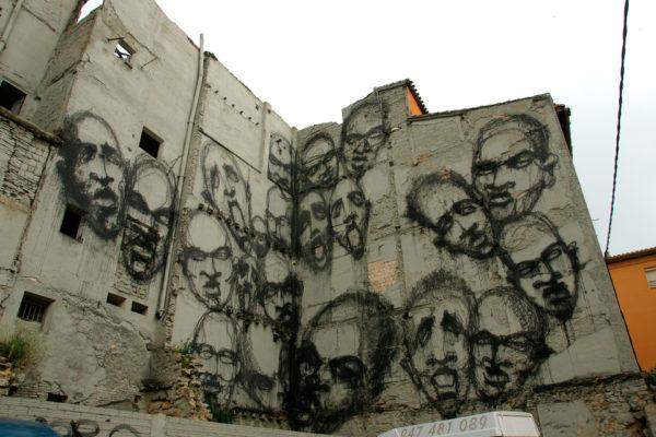 SUSO33 Wall Angustias-máscara Logroño
