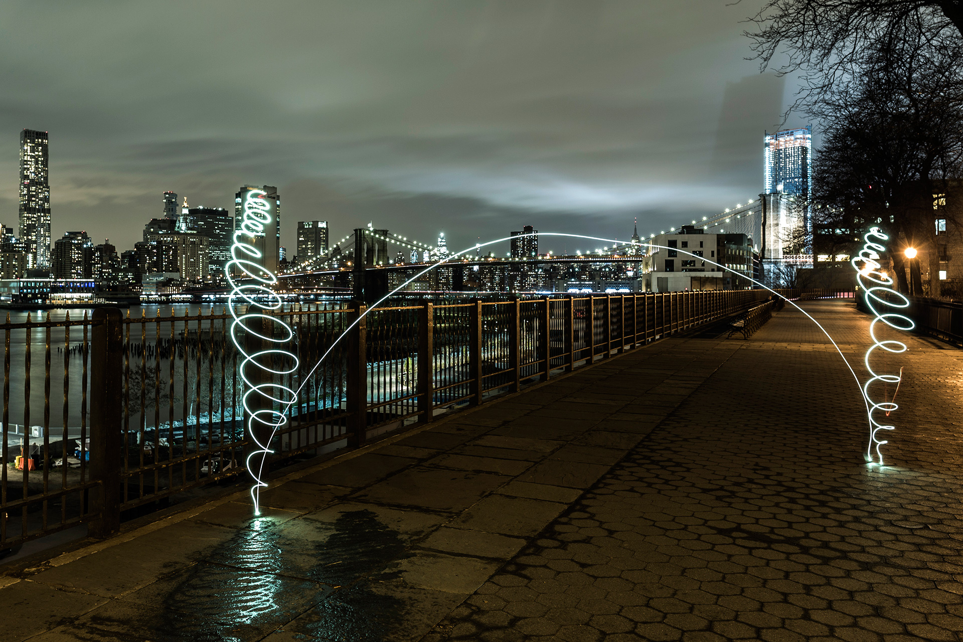 SUSO33 Light Painting NYC
